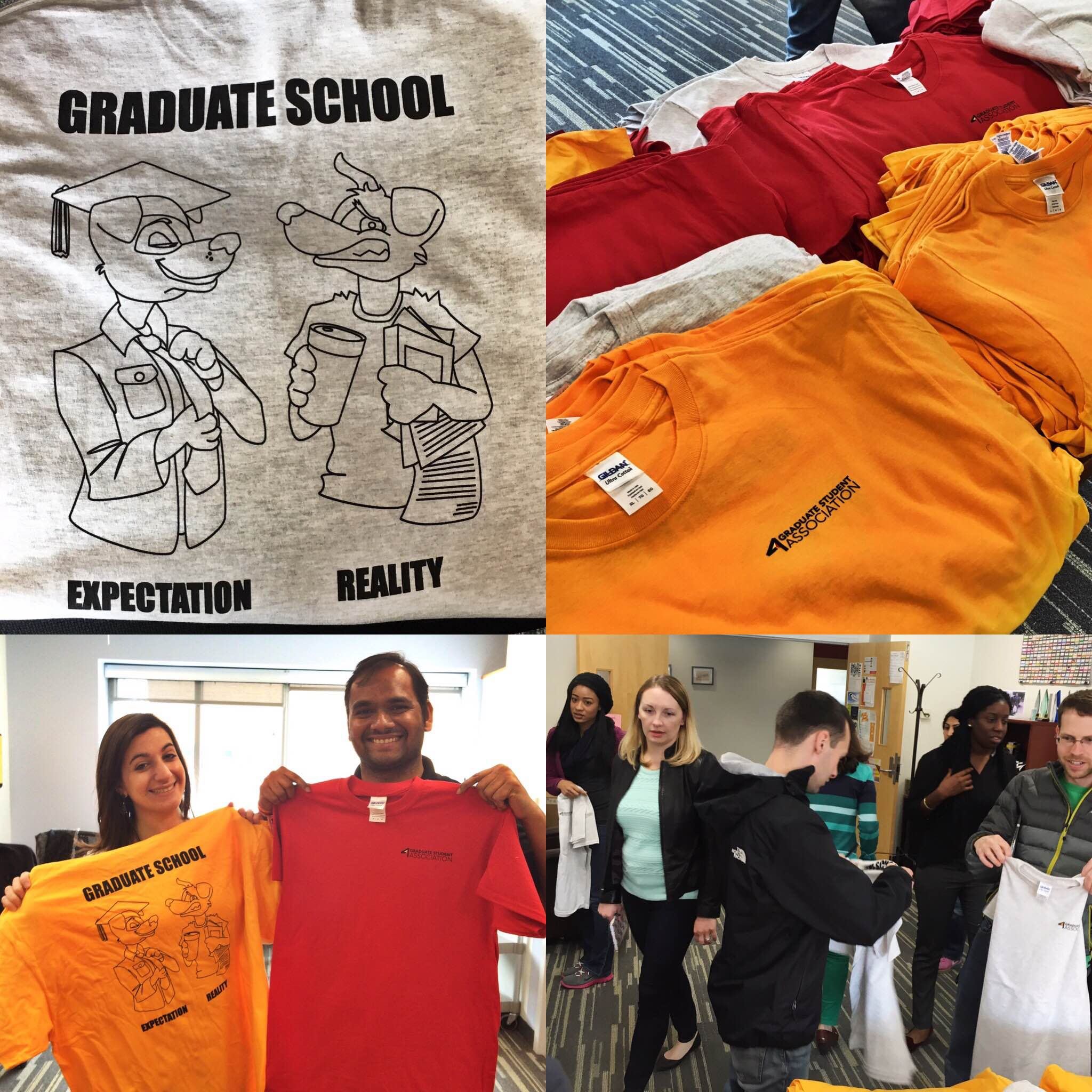 Graduate Student Week T-shirt Giveaway 2016
